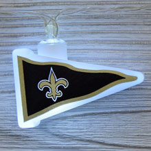 NFL New Orleans Saints LED Pennant String Lights - Battery Operated