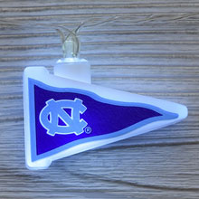NCAA North Carolina Tarheels LED Pennant String Lights - Battery Operated TP-NCAA/NCAR