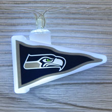 NFL Seattle Seahawks LED Pennant String Lights - Battery Operated