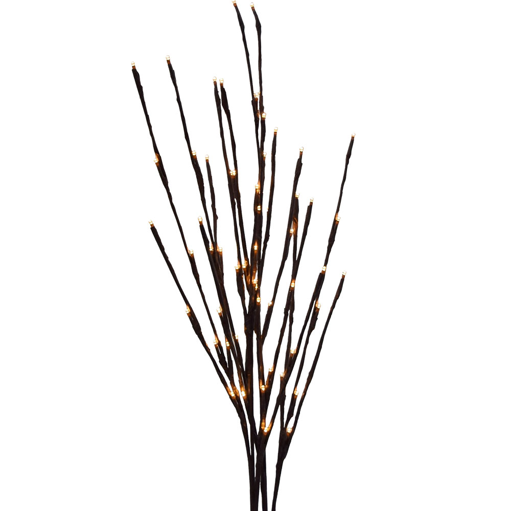 "39"" Battery Operated Warm White LED Lighted Branches"