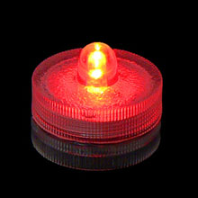 Red LED Waterproof Submersible Lights - 4 Pack FOR-SUB1R