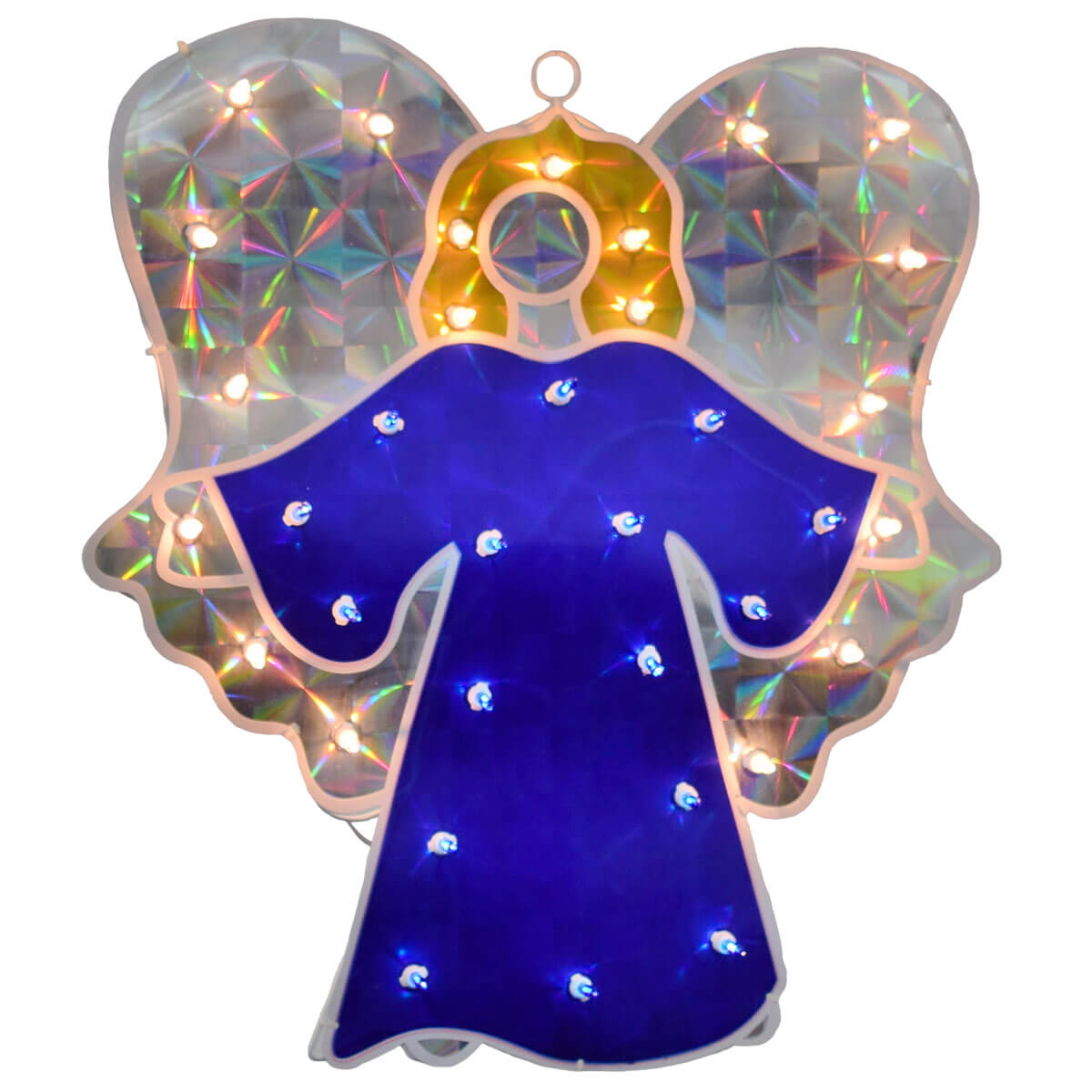 Christmas Angel Holographic Light