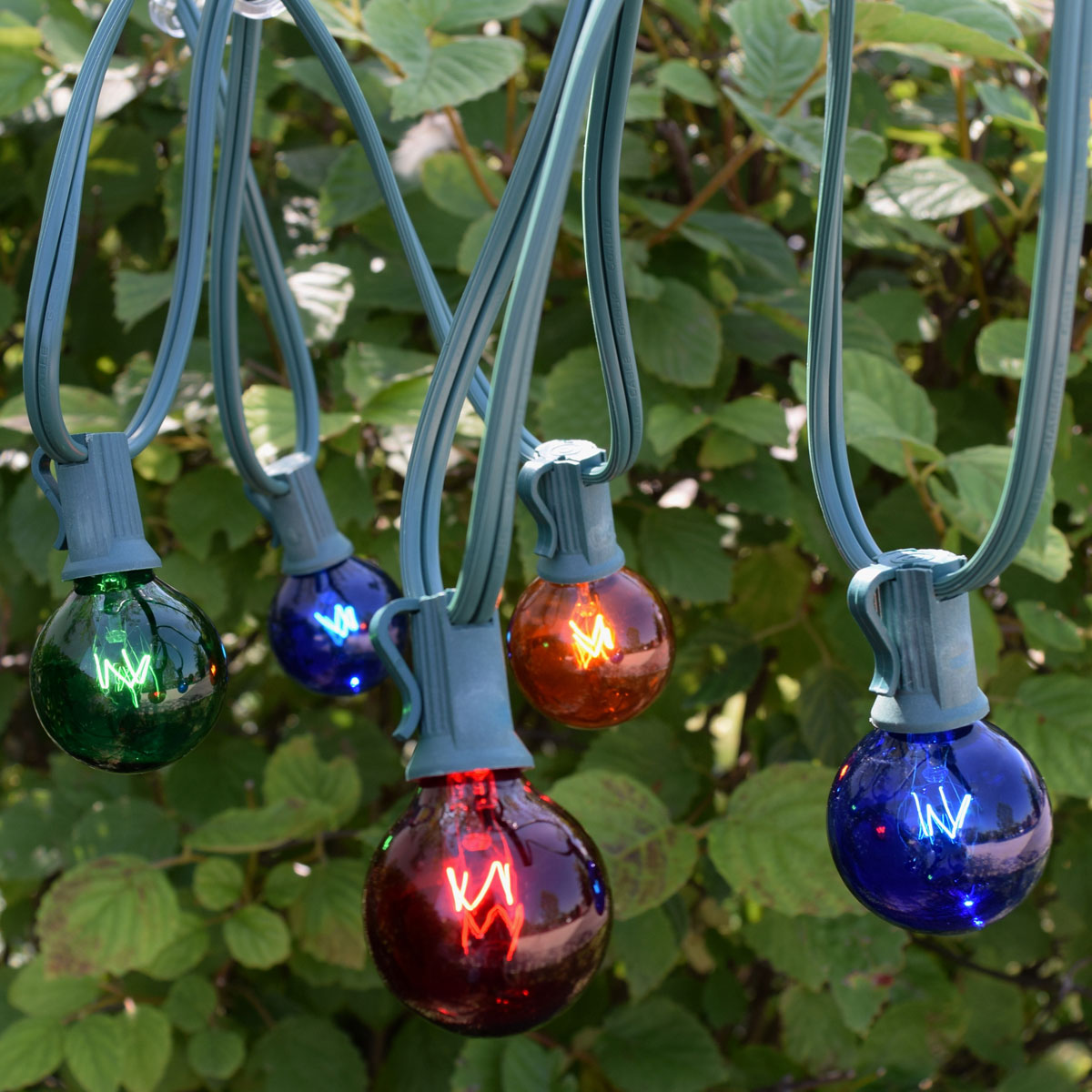 multi color C7 globe string lights