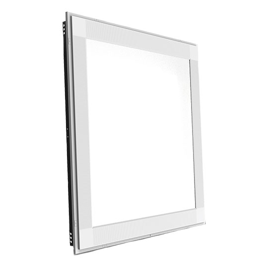2' x 2' Flat-Panel Cool White LED Troffer Light