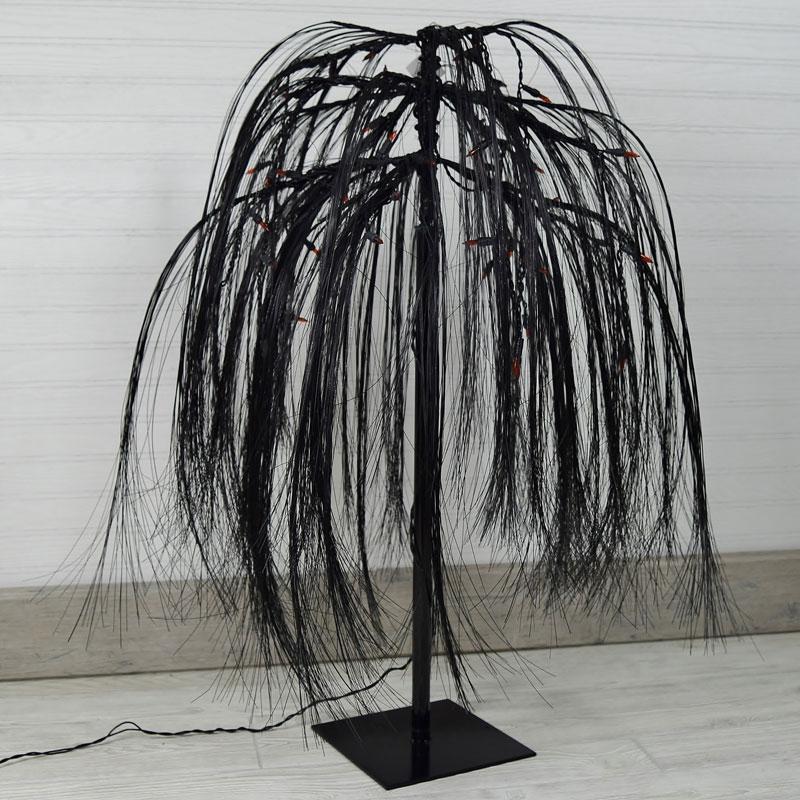 ft. prelit black weeping willow tree, Natural flower