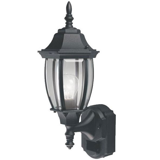 Black Motion Coach Light Lantern
