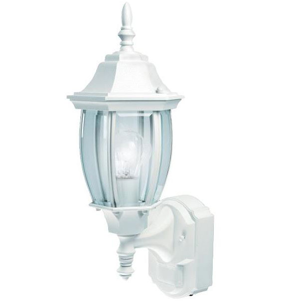 White Coach Motion Wall Lantern