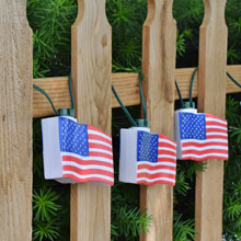 C7 Stars N' Stripes American Flag Party String Lights