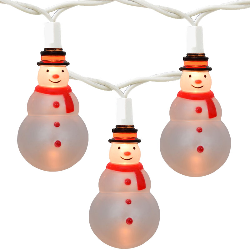 amoyer would like your help on Shopswell. Is there a snowman set of string lights?