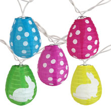 Easter Egg Lantern String Lights                           AI-1651