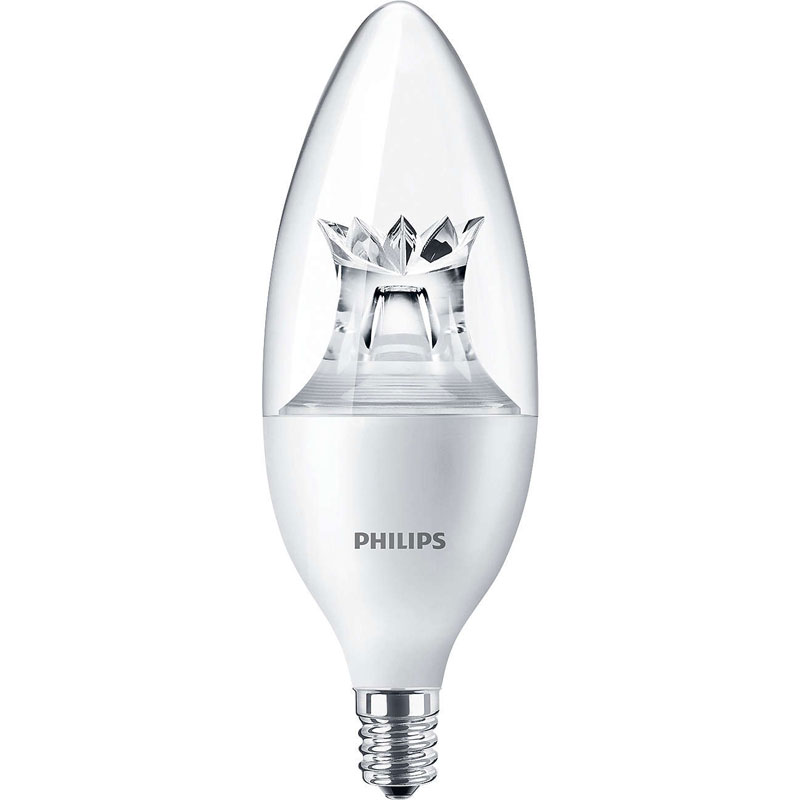 Dimmable Soft White B12 LED Light Bulb - 3.5W 525103