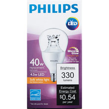 Dimmable A15 LED Light Bulb - 4.5W 501201