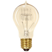 Vintage Edison A19 Light Bulb - 60W 500908