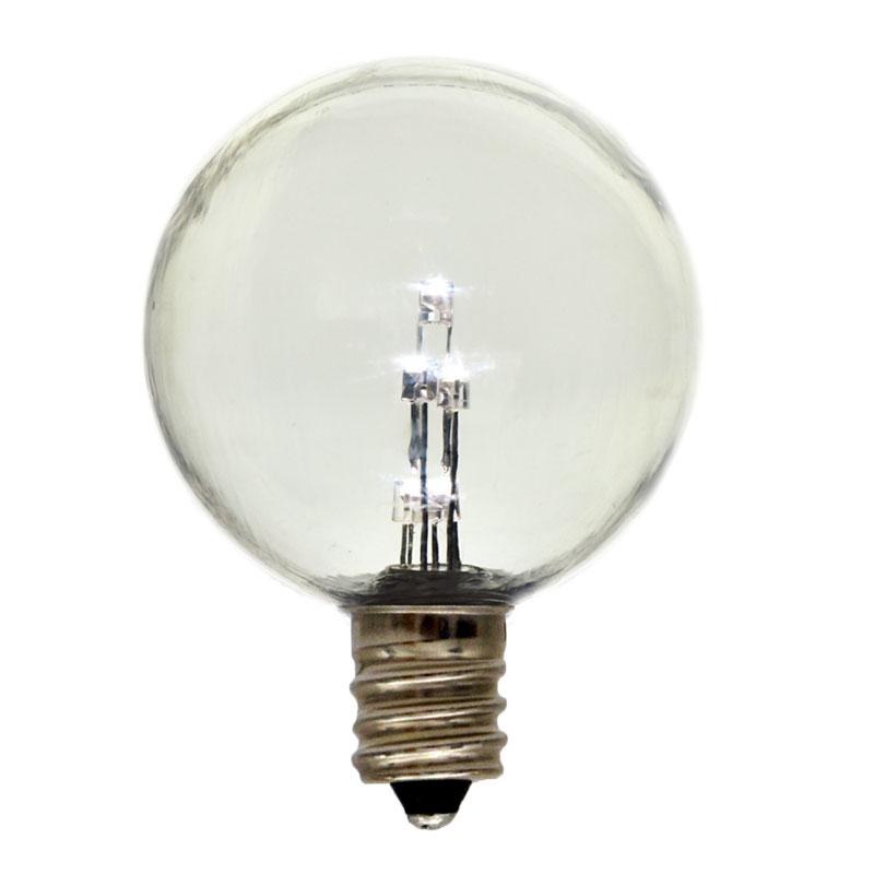E12 Led Light Bulb: Globe G40 E12 Candelabra Base Light Bulb