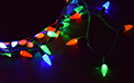 Multi Color C6 LED String Light Reel - 210 Lights - 903000