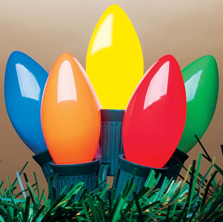 LED Multi Color C9 Style Lights
