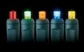 FLEXCHANGE™ LED String Light Strand - 50 Lights - Multi-Color Frosted - 723952