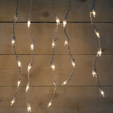 50 Count Window Icicle white Party String Lights