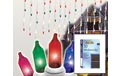 50 Count Window Icicle Multi-Color Party String Lights