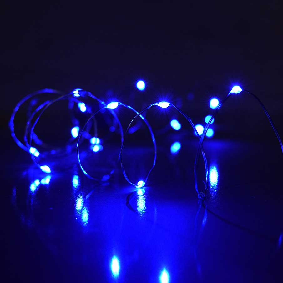 Blue LED micro lights