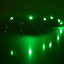 LED Battery Operated Ultra Thin Wire String Light Strand - 18 Green Lights 725044