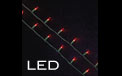 60L LED Light Strand - Traditional Style - Red - GC1706100