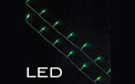 60L LED Light Strand - Traditional Style - Green - GC1706130