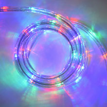 Multi Color LED Flat Rope Light