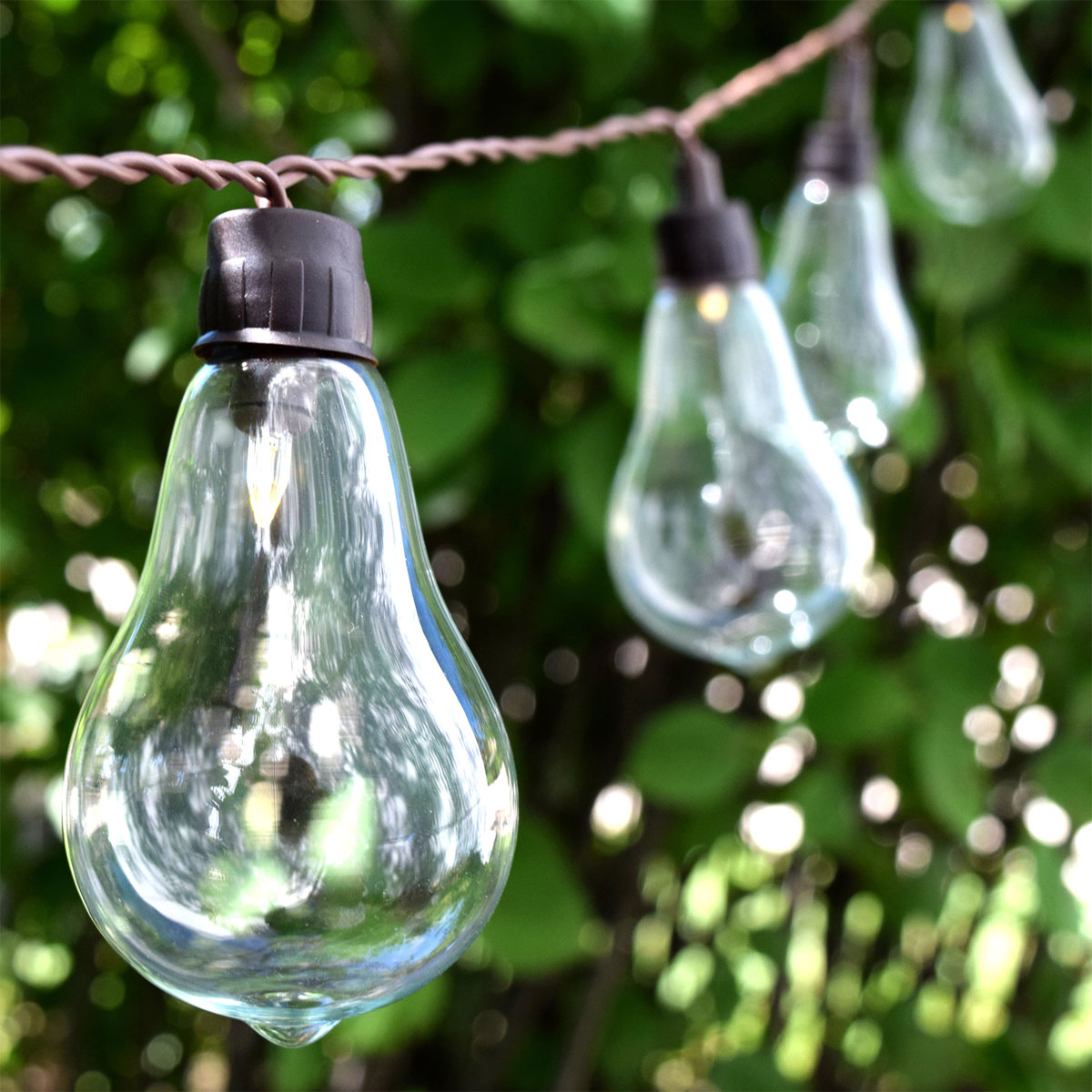 Solar Led String Garden Lights : Triyae.com = Solar Outdoor Lights String ~ Various design inspiration for backyard