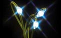 LED Battery Operated Ultra Thin Wire String Light Strand - 18 Blue Lights - 725043