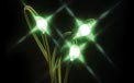 LED Battery Operated Ultra Thin Wire String Light Strand - 18 Green Lights - 725044