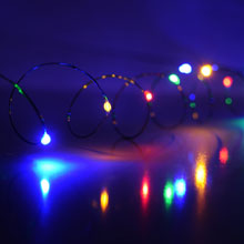 LED Battery Operated Ultra Thin Wire String Light Strand - 18 Multi-Color Lights