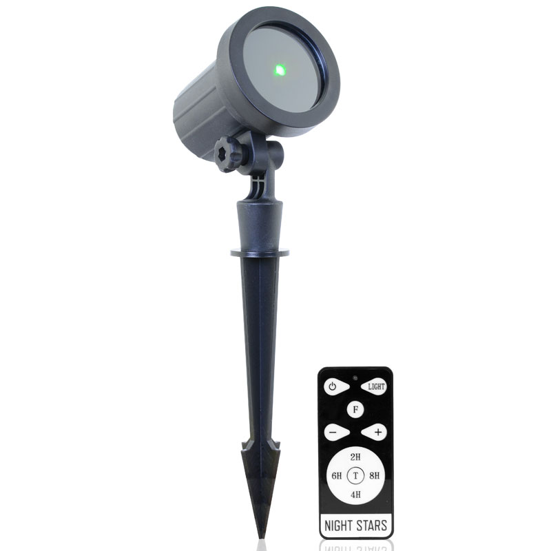 Night Stars Deluxe Green Light Projector