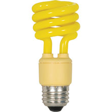 T2 Spiral CFL Post Bug Light Bulb