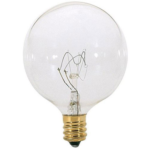 25W Clear Decorative Globe Light Bulbs