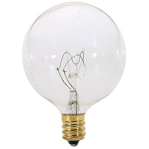 40W Clear Decorative Globe Light Bulb