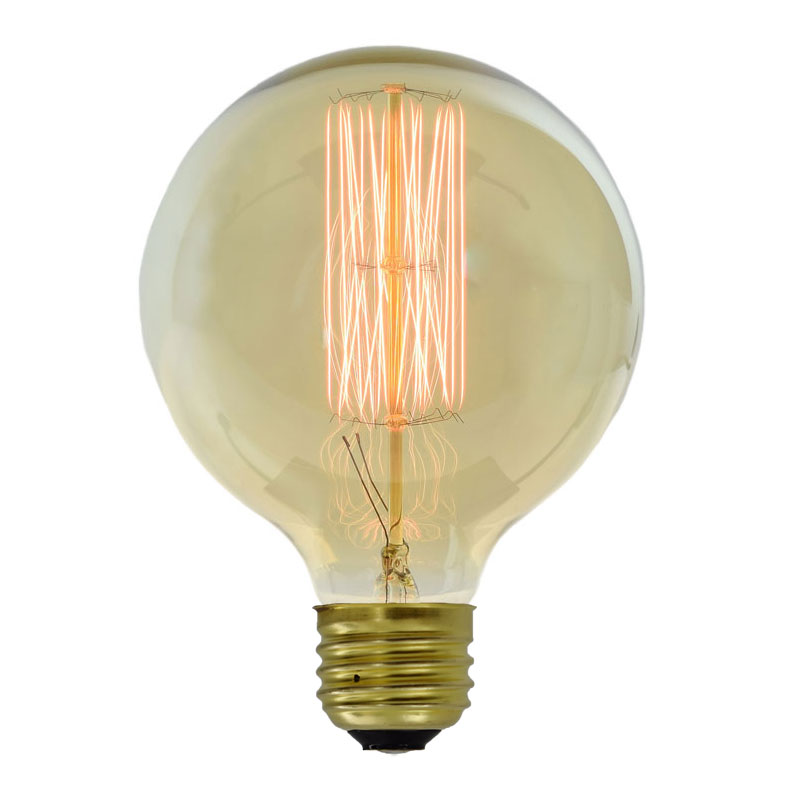 40w Large Antique Edison Globe Light Bulb
