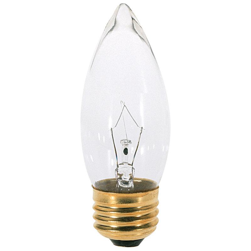 clear b11 decorative light bulb 40w 2 pack - Decorative Light Bulbs