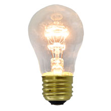 15 Watt Medium Base Commercial Light Stringer Bulbs - Clear - 20 Pack