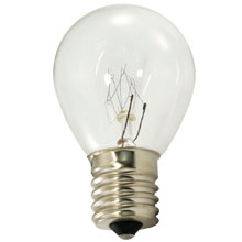 Clear Commercial Grade Light Bulbs