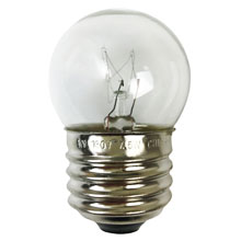 7.5W Clear S11 Medium Base String Light Bulb