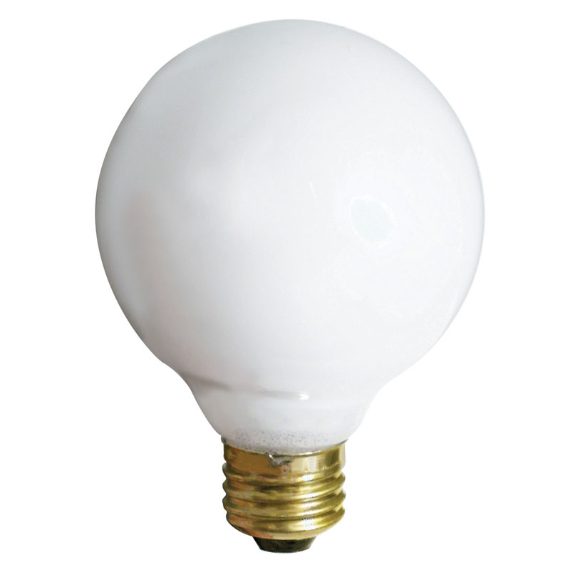 Soft White G25 40 Watt Globe Light Bulb