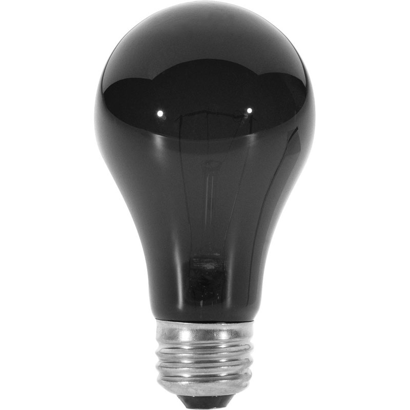 60 watt medium base indoor blacklight bulb. Black Bedroom Furniture Sets. Home Design Ideas
