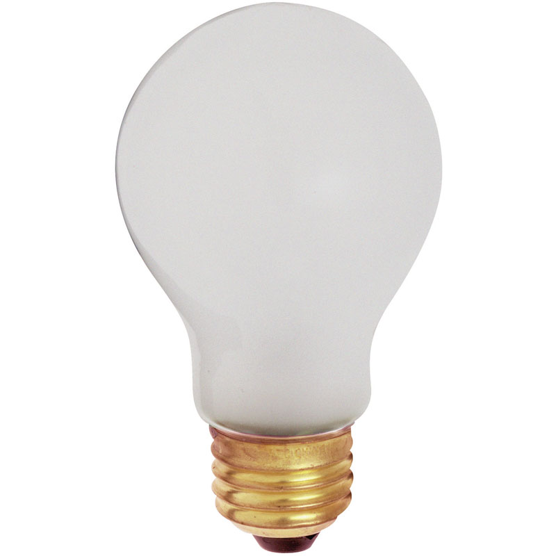 A19 100W Toughshell Incandescent Light Bulb