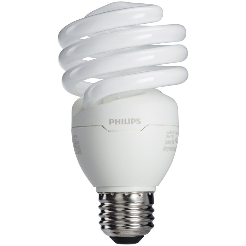23W Spiral CFL Light Bulb