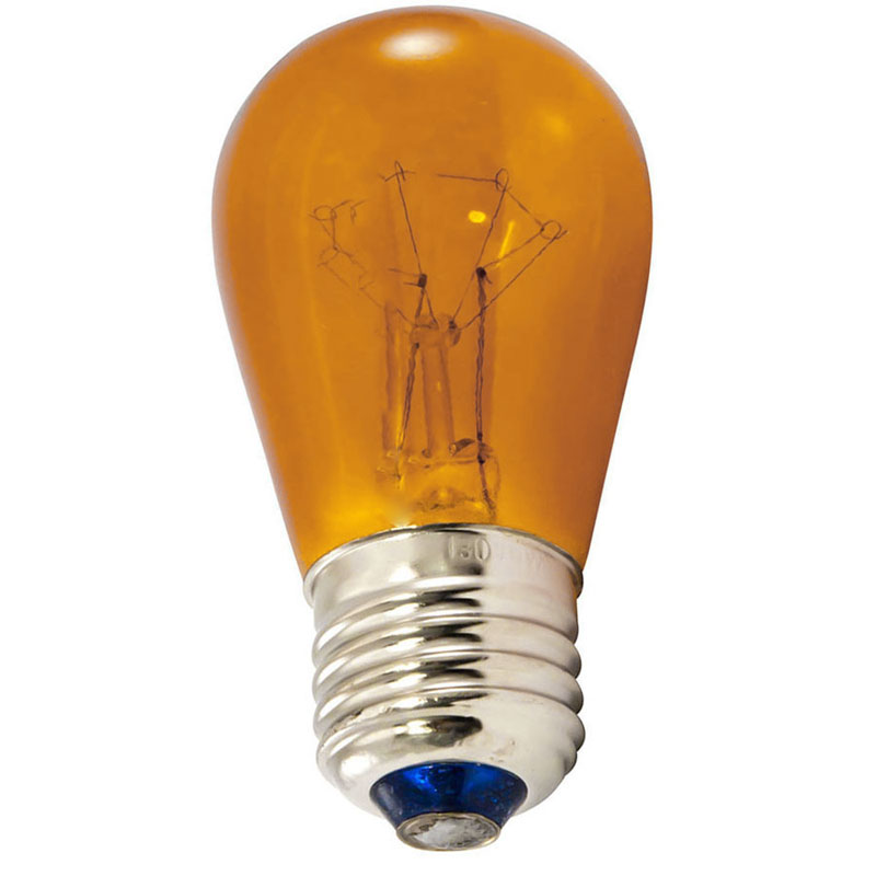 Amber Commercial String Light Bulbs