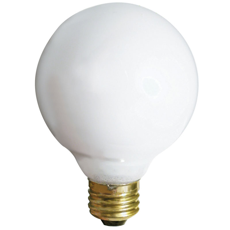 G25 25W Globe Light Bulb, Soft White