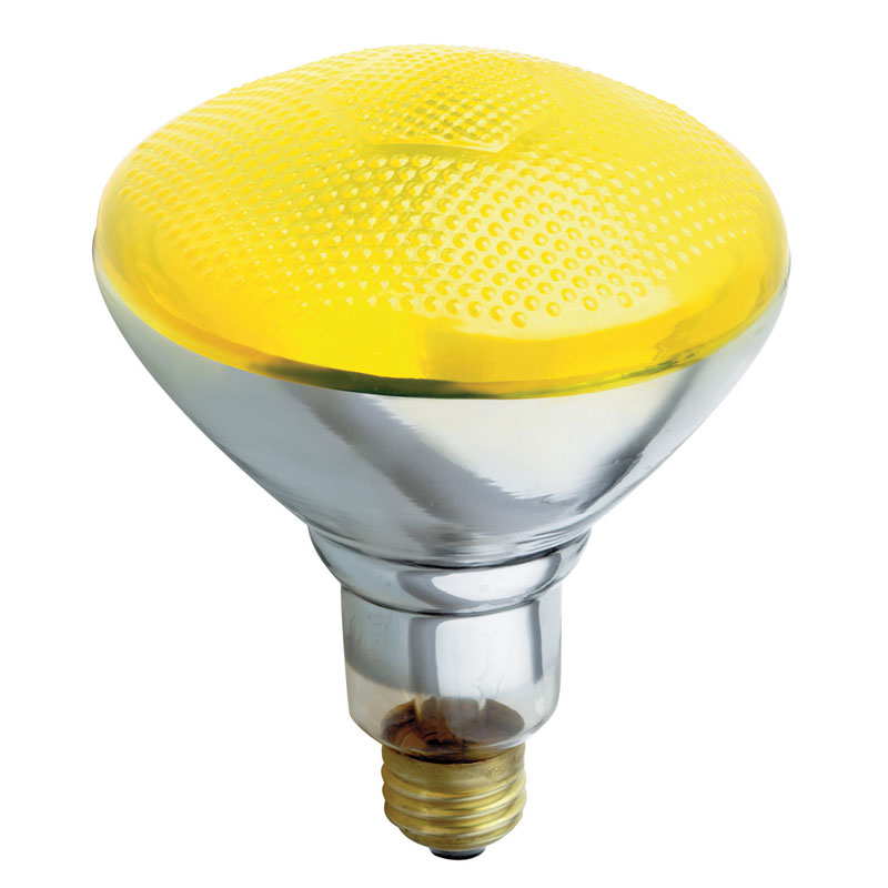 Yellow Bug Br38 Floodlight Bulb 100 Watts