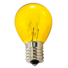 Yellow Light Bulbs - 25 Pack
