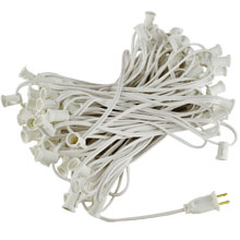 Commercial Grade White String Lights